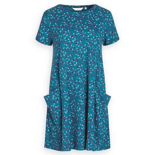 Seasalt S/S Clear Light Dress Tossed Seaweed Atlantic