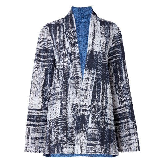 Sahara London Hand Stitched Patchwork Jacket Reversible