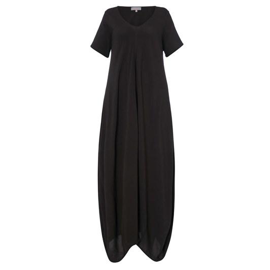 Sahara London Crepe Bubble Dress