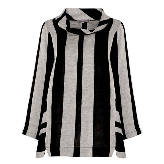 Sahara London Linen Stripe Tunic