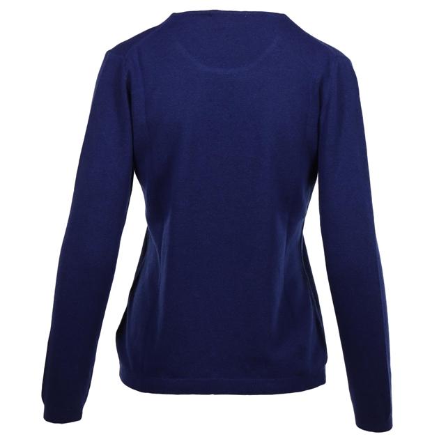 Ellemme Crew Neck Jersey Cashmere Blend - bright blue