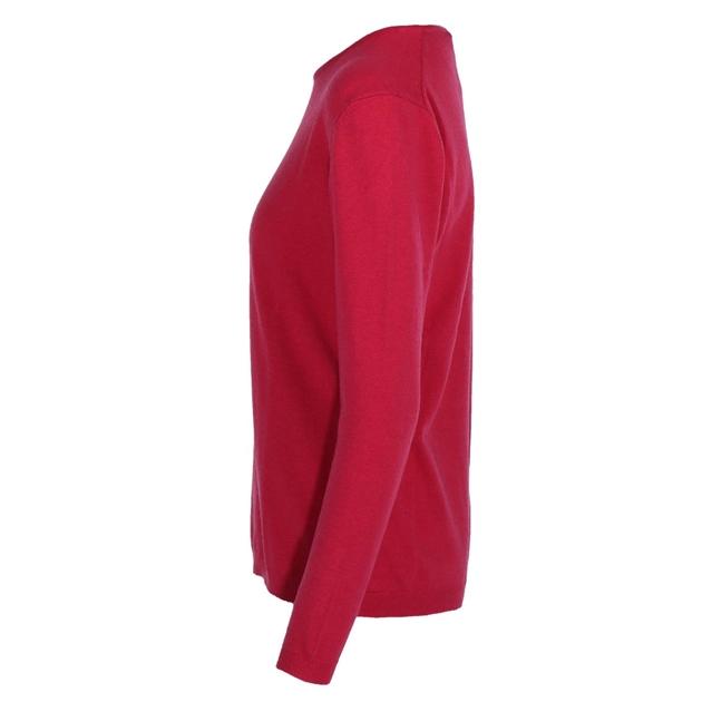Ellemme Crew Neck Jersey Cashmere Blend - bright pink
