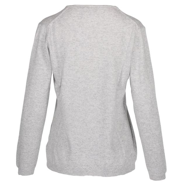 Ellemme Crew Neck Jersey Cashmere Blend - light grey