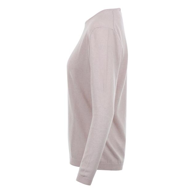 Ellemme Crew Neck Jersey Cashmere Blend - light pink
