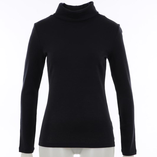 B Merino Roll Neck