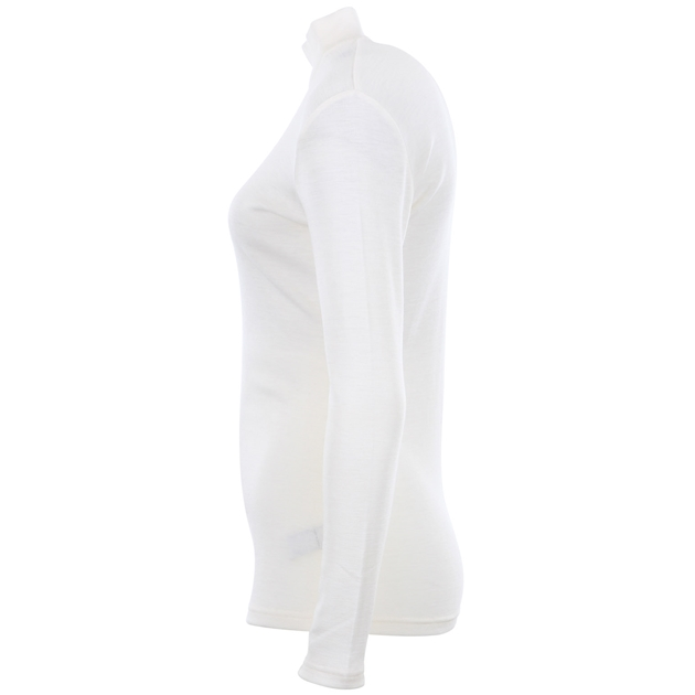 B Merino Turtle Neck - winter white