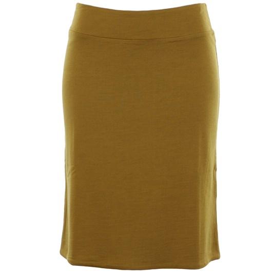 B Merino Reverse Skirt
