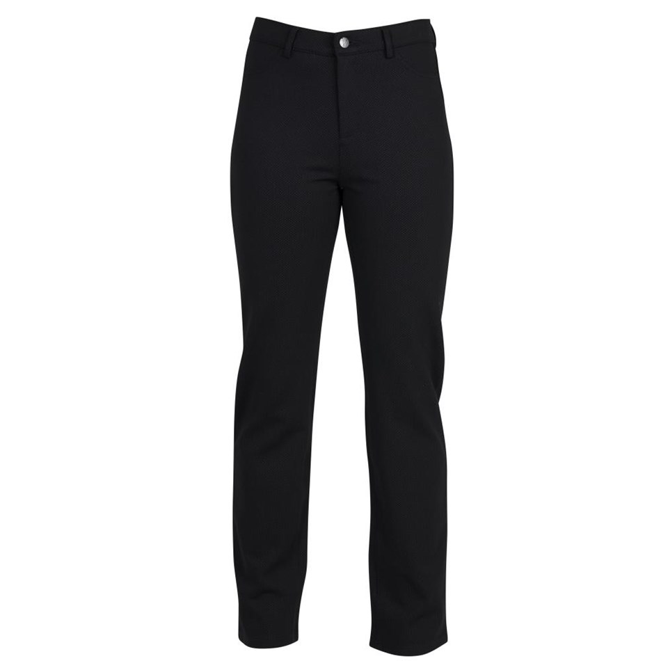 Vassalli Slim Leg Full Length Ponti Pant With Fly -