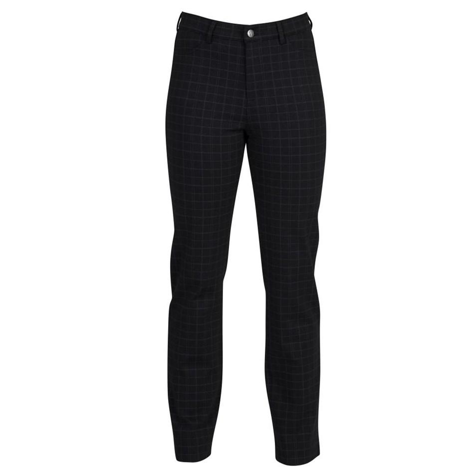 Vassalli Slim Leg Full Length Ponti Pant With Fly - troyes