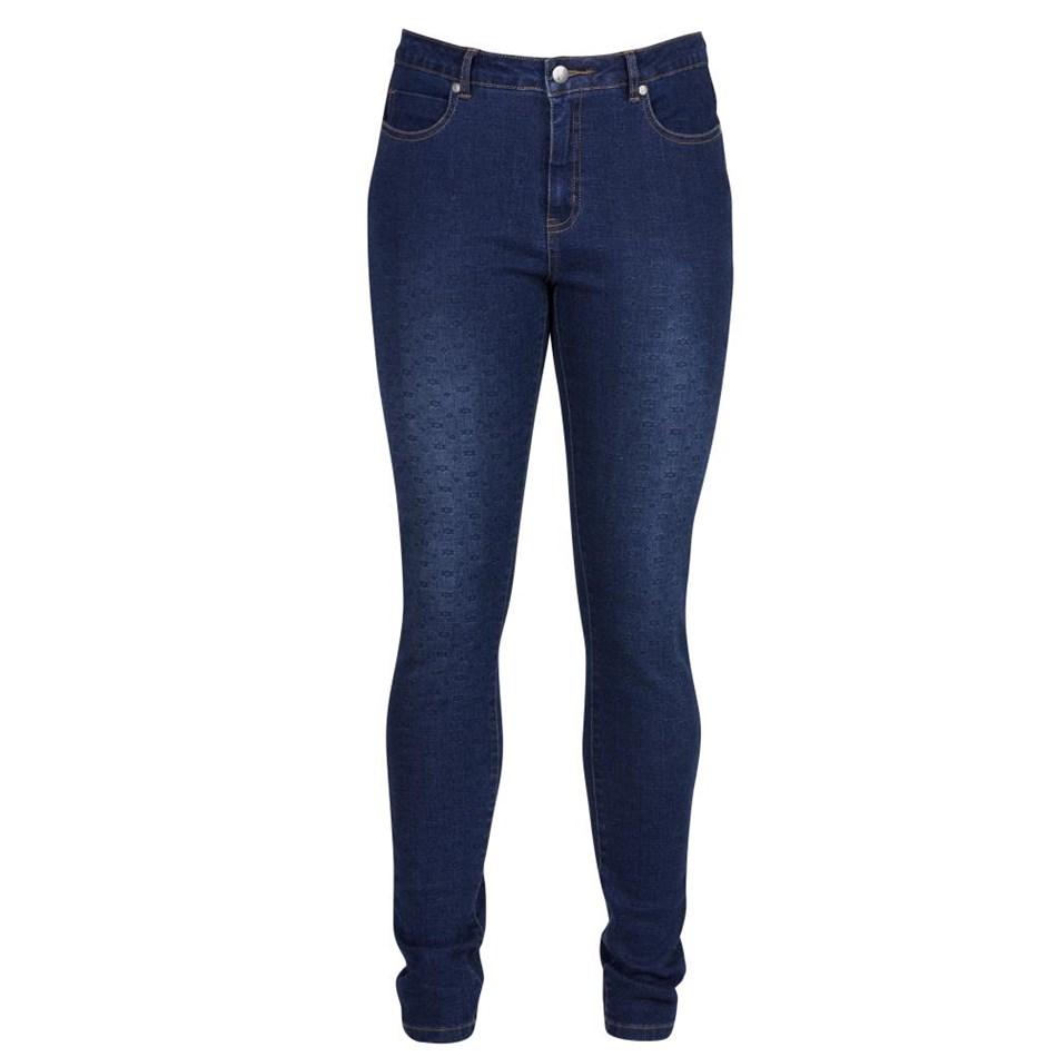 Vassalli Super Skinny Leg Full Length Lower Rise Jean - vadar