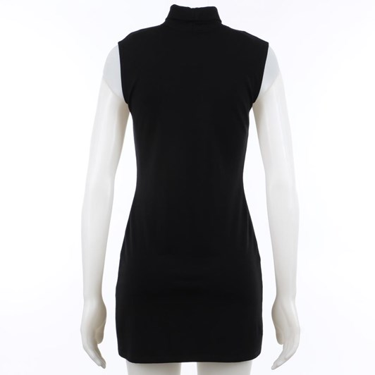 Paula Ryan Sleeveless Polo Neck Tunic