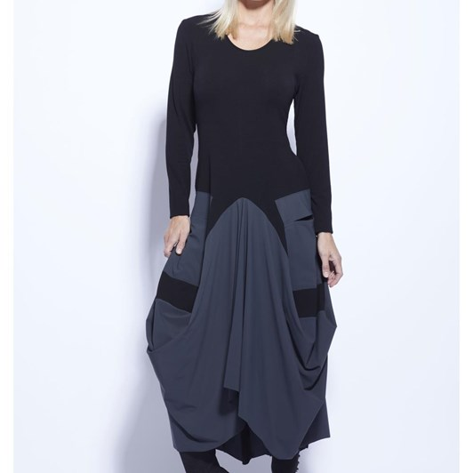 Paula Ryan Tulip Skirt Dress