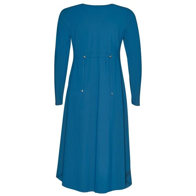 Paula Ryan Tucked Pocket Tulip Dress -