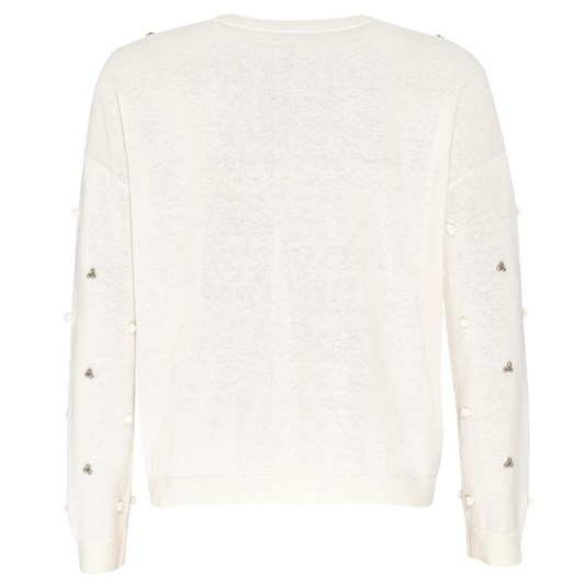 Madly Sweetly Sugar Pearl Sweater