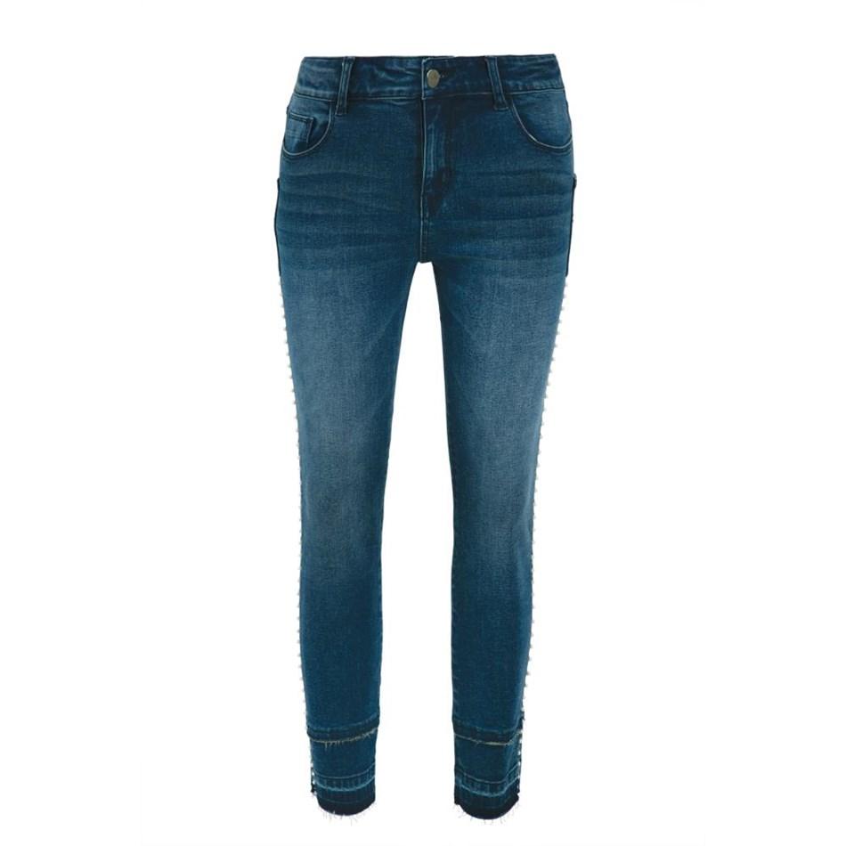Curate Stud Finder Jeans - denim
