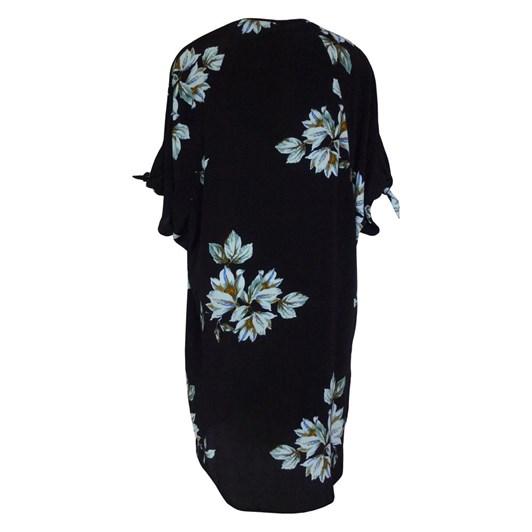 Random Knotted Sleeve Dress