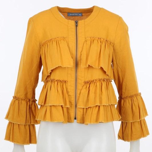 Lemon Tree Viola Linen Jacket