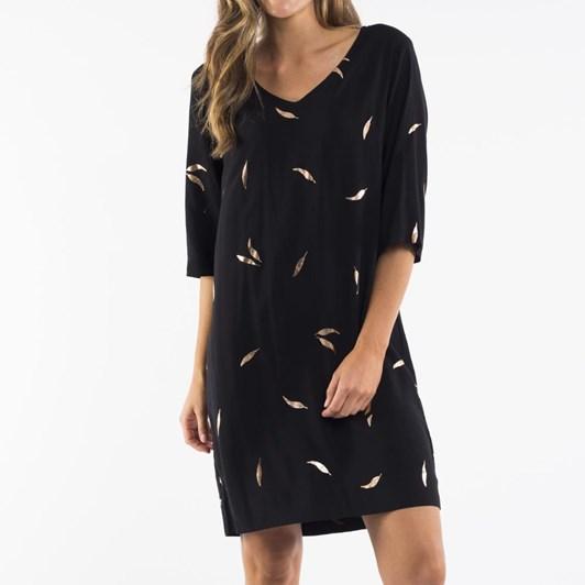 Elm Shinning Leaf Dress