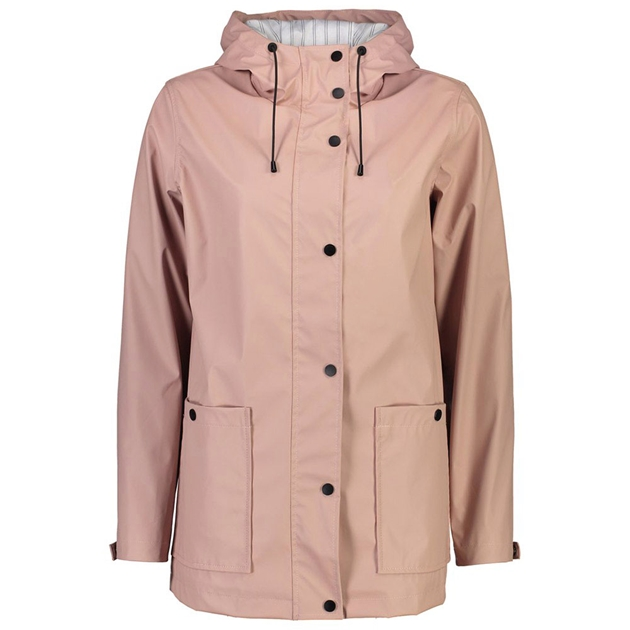 Moke Ella Rain Jacket - blush