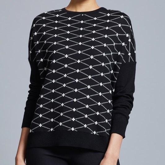 Visage Jacquard Sweater
