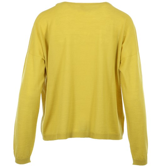 Visage Cropped Pocket Sweater