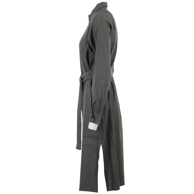 Staple + Cloth Momento Shirt Dress - sage