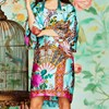 Trelise Cooper You Still Frill Me Tunic - blue floral