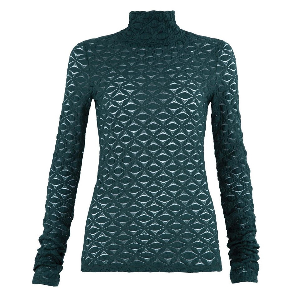 Curate Skivvy League Top - forest