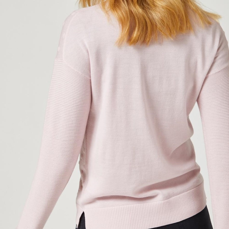 Toorallie Pymbal Sweater - pink sand