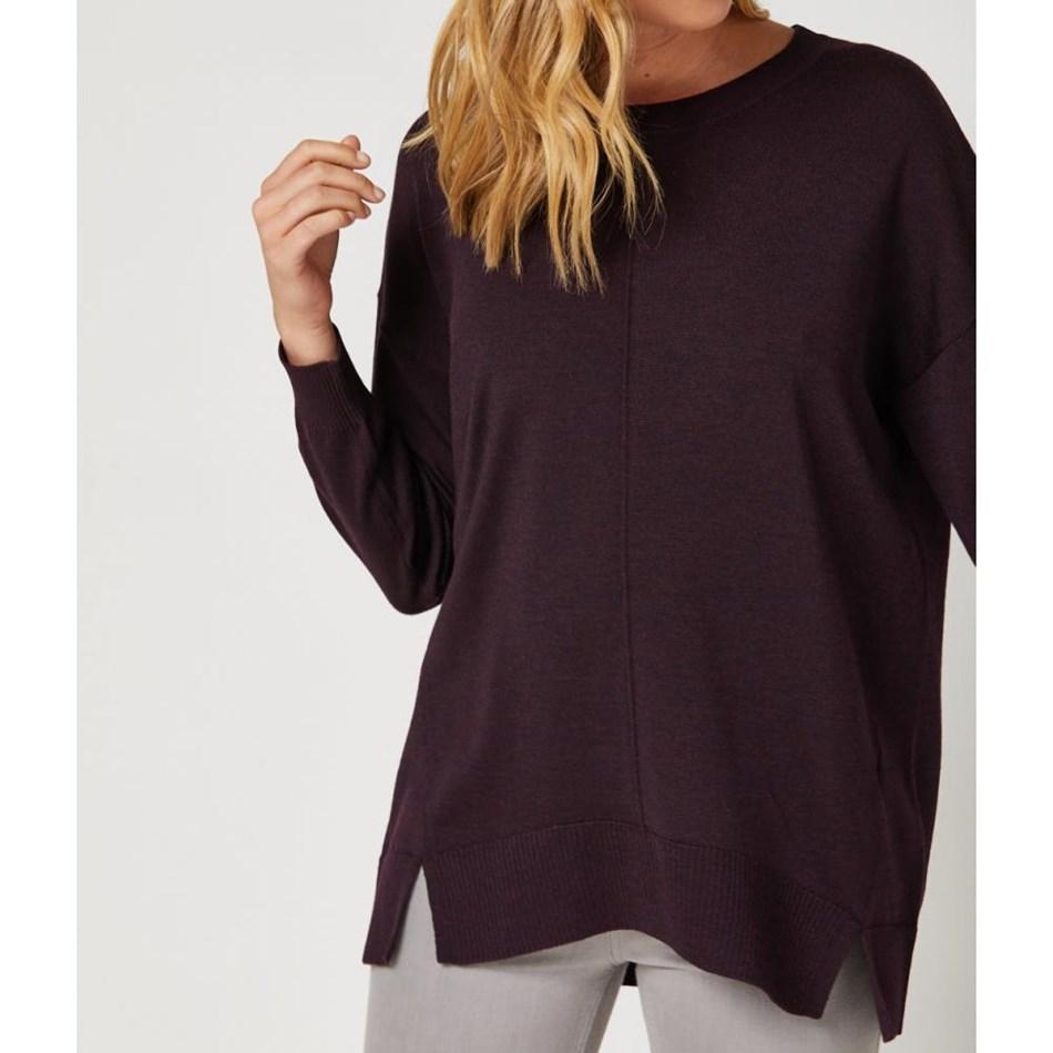 Toorallie Loft Sweater - wildberry