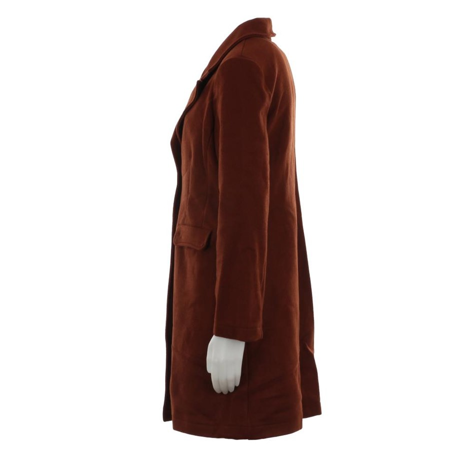 Le Streghe Coat - brown