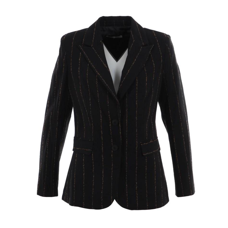 Biancoghiaccio Jacket - black beige