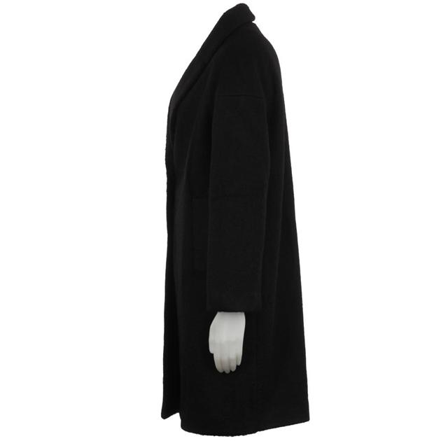 Biancoghiaccio Coat - black
