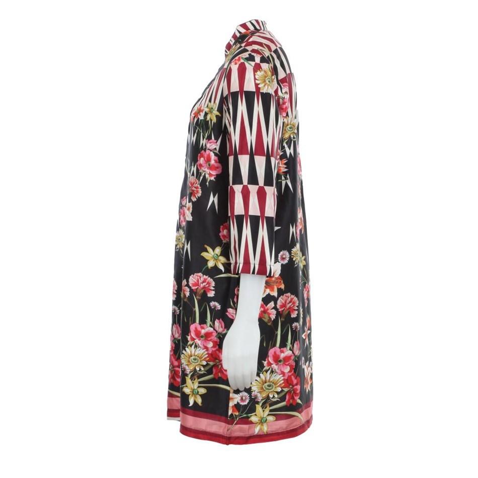 Biancoghiaccio Dress - floral