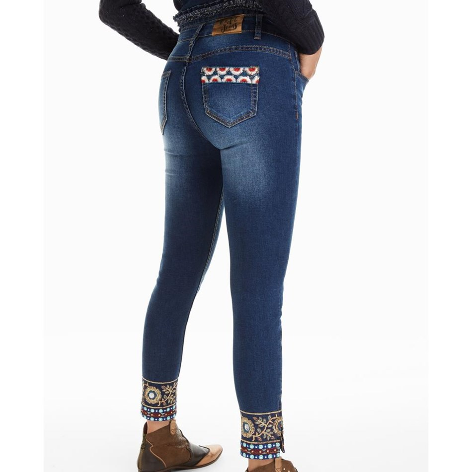 Desigual Ankle Exotic Jean -