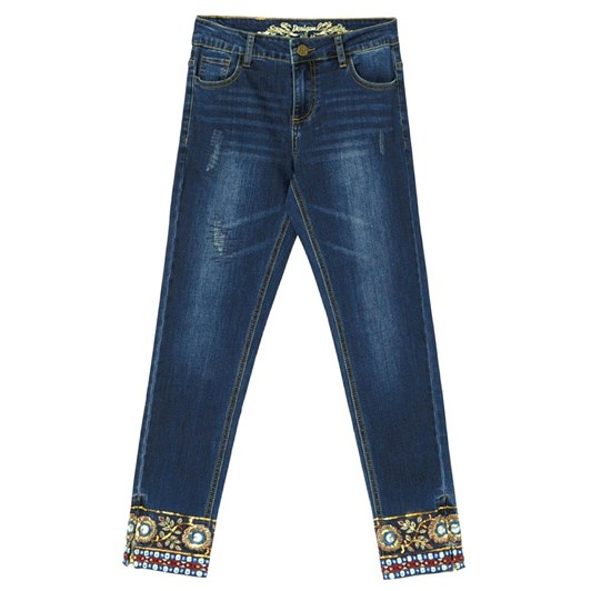 Desigual Ankle Exotic Jean
