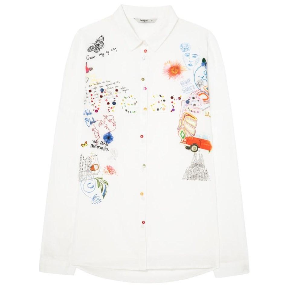 Desigual Marta Shirt - 1000 white