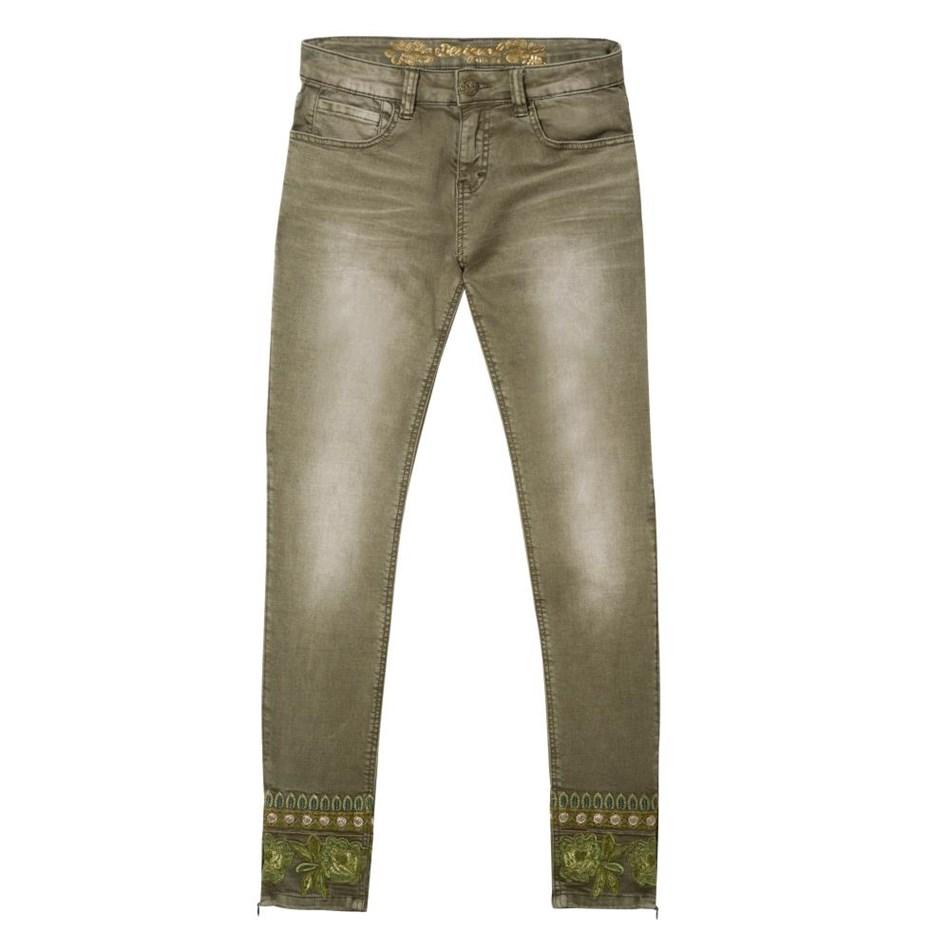 Desigual Peteicor Pant - 4000 moss