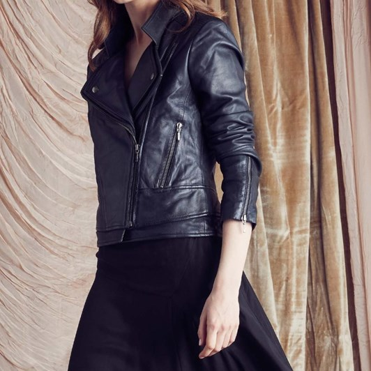 Once Was Goldsmith Leather Jacket