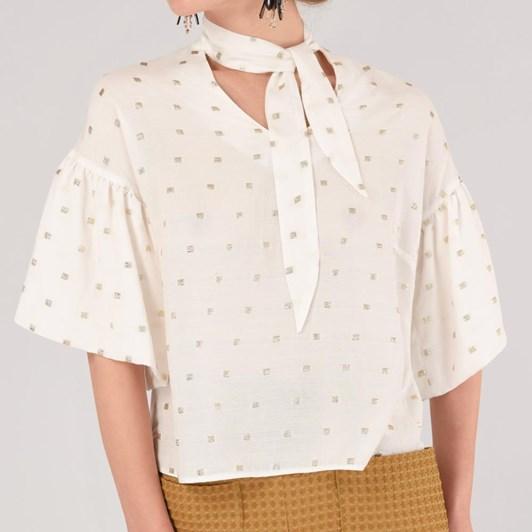Closet Frill Sleeve Blouse