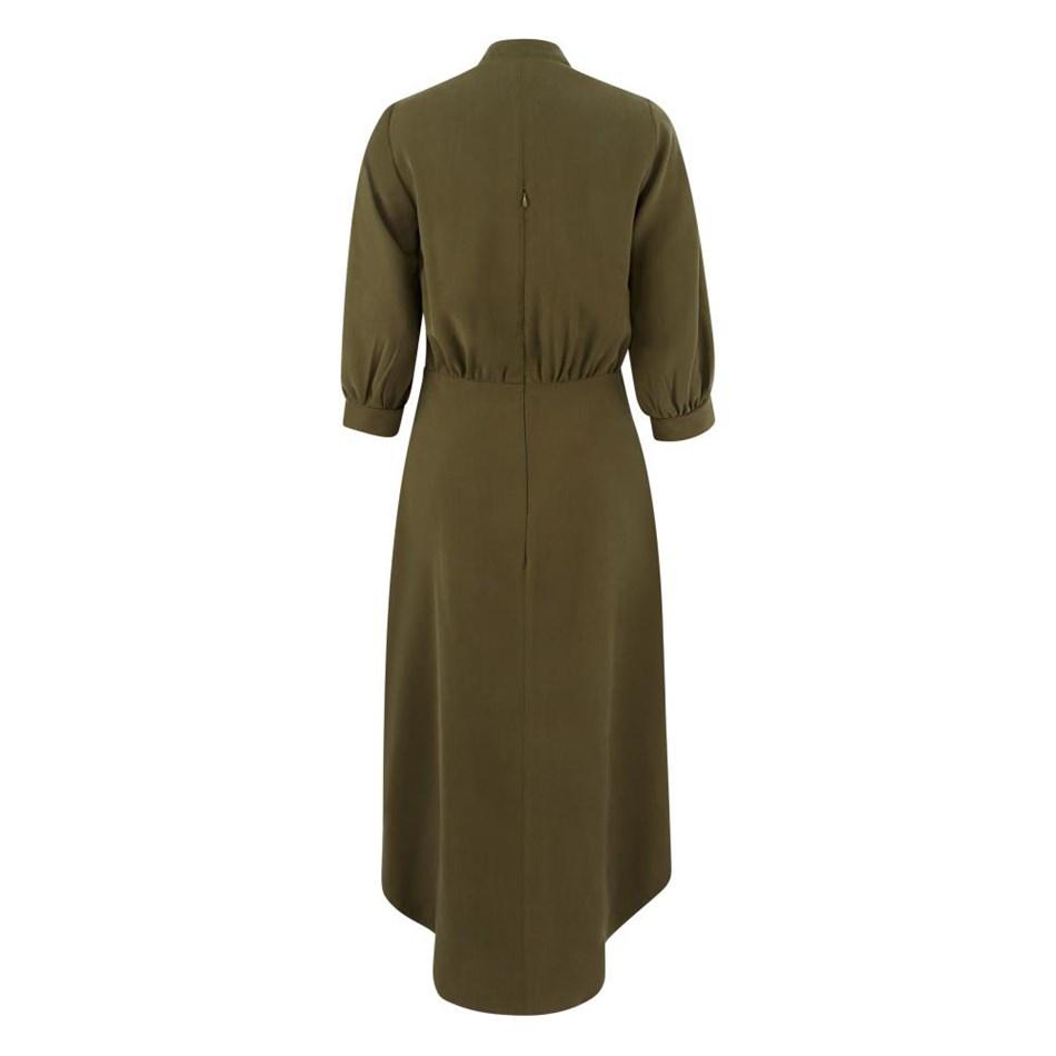 Closet Bishop Sleeve Shirt Dress -