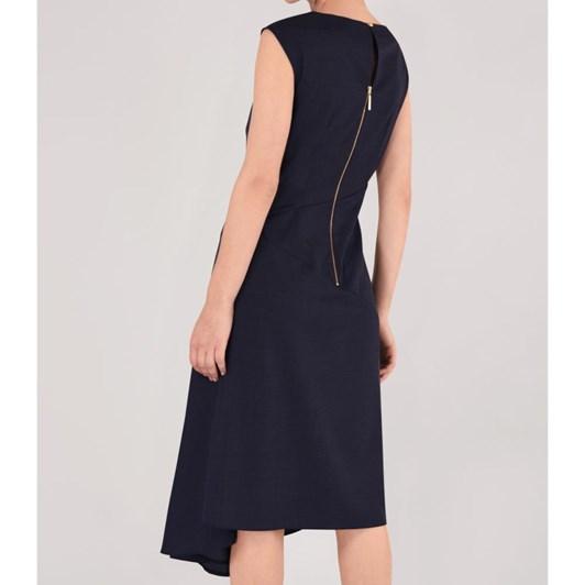 Closet Asymmetrical Drape Dress