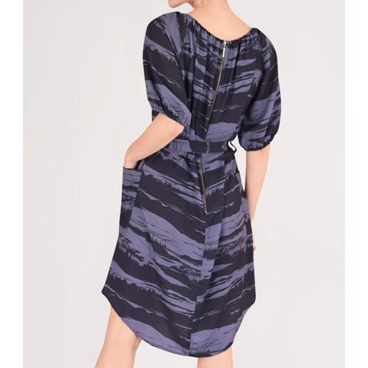 Closet Gathered Raglan Sleeve Dress