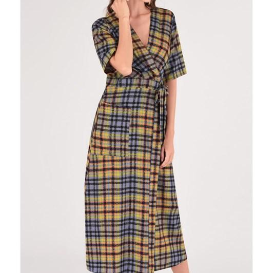 Closet Midi Kimono Dress