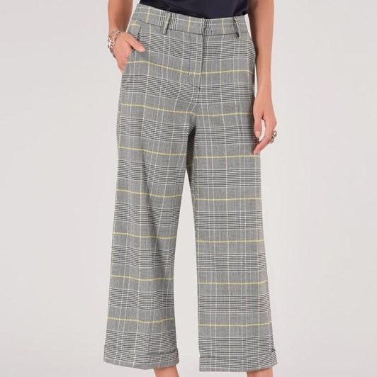 Closet Wide Leg Turn Up Trouser