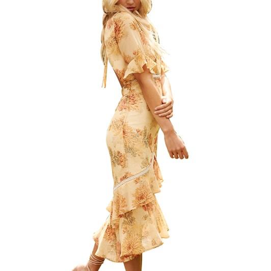 Hope & Ivy Double Pep Hem Dress