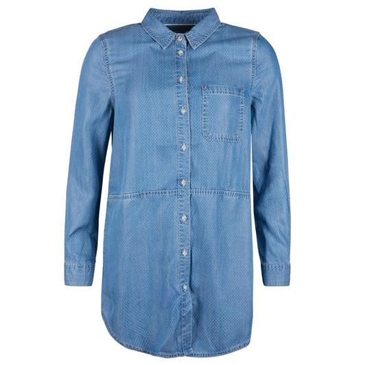 Barbour Sailboat Shirt Lt Wash Denim