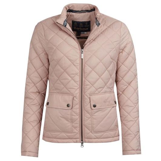 Barbour Lorne Quilt Pale Pink
