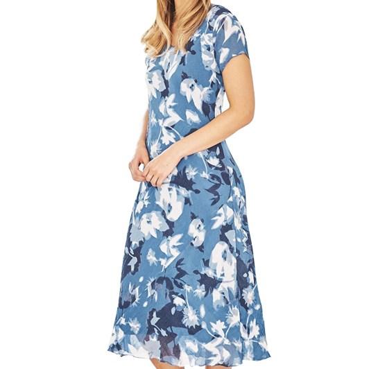 Adini Moonshadow Print Dress