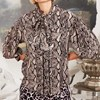 Trelise Cooper Throw Me A Bow Blouse - purple snake
